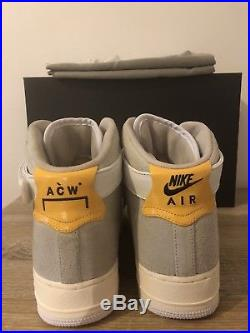 NikeLab X A-COLD-WALL Air Force One High AF1 ACW UK8/EU42.5/US9 London Exclusive