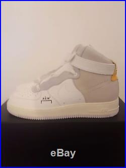 NikeLab x A-COLD-WALL Nike Air Force One NIKE AF1 ACW Samuel Ross Bespoke Shoes