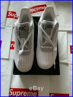 Nike Air Force 1'07 / ACW A Cold Wall White Light Grey DS Mens BQ6924-100