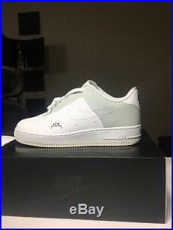 Nike Air Force 1 A-Cold-Wall ACW Size 10.5 White