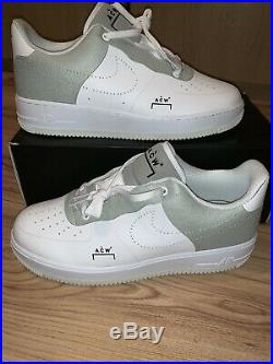 Nike Air Force 1 X A Cold Wall ACW White UK 9