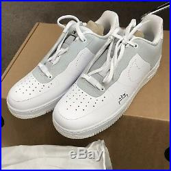 Nike Air Force 1 X A Cold Wall Acw White Uk 7.5 Us 8.5 Af1