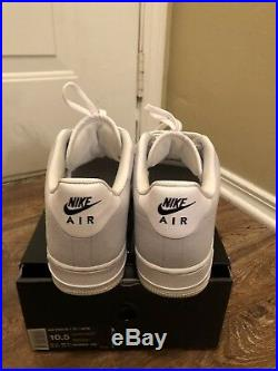 Nike Air Force 1 x ACW A Cold Wall Sz 10.5 White Light Grey Black
