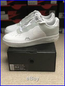 Nike Air Force 1 x A Cold Wall ACW White UK9.5 US10.5 Low Brand New BQ6924-100