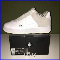 Nike Air Force 1 x A-Cold-Wall White UK 7.5 US 8.5 AF1 ACW Off Travis Scott