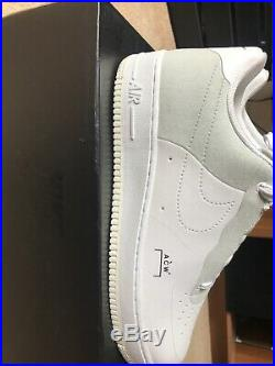 Nike X A Cold Wall (ACW) Air Force 1 Low Trainers White UK10 US11 Mint Condition