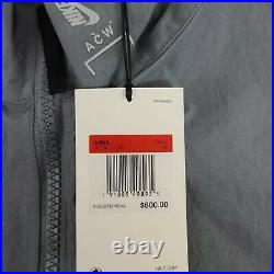Nike X A-Cold-Wall ACW NRG Jacket Gray AQ0430-065 New Men's Size Large L