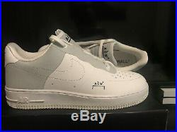 Nike X A-Cold-Wall Air Force 1 Low White 10.5 ACW Limited Off White
