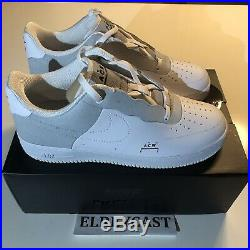 Nike X A Cold Wall Air Force 1 Low White 10 ACW