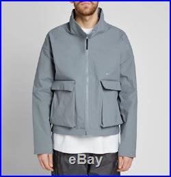 Nike x ACW A COLD WALL Grey Dual Component Overcoat Jacket RRP £509