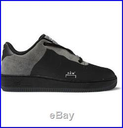 Nike x ACW A Cold Wall Air Force 1 Low Leather and Suede Black UK 9 New