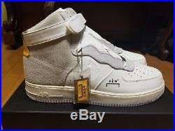 Nike x A-COLD-WALL Air Force 1 High Size US 14 UK 13 ACW SAMUEL ROSS OFF WHITE