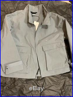Nike x A-COLD-WALL Jacket RARE Size L Cool Grey ACW tech overcoat off white