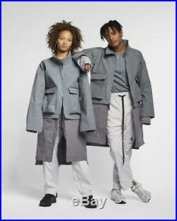 Nike x A-COLD-WALL Jacket RARE Size XS Cool Grey ACW tech overcoat off white acg