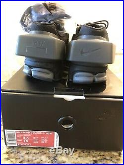 Nike x A Cold Wall (ACW) Zoom Vomero 5 Black US 8.5- New In Box