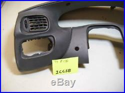 OEM 97-03 Ford F-150 Gray Driver's Side Upper Dashboard Moulding/Trim 3 PIECES