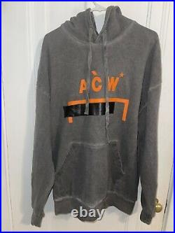 Oversized A Cold Wall ACW Garment Hoodie Size Extra Large