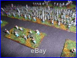 Painted 6mm Baccus Confederate ACW army