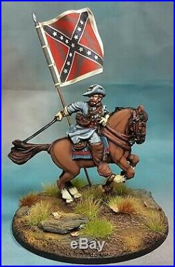 Perry Miniatures ACW Confederate General Salute 2011 limited ed, Painted