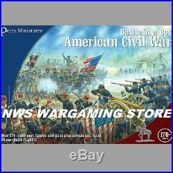 Perry Miniatures Acw American CIVIL War Battle In A Box New Free Shipping