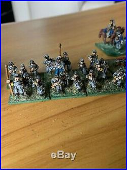 Peter Pig 15mm ACW Confederate army 200+ figs Painted/based table top standard