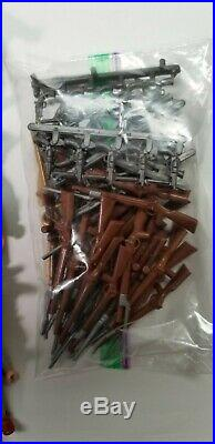 Playmobil, ACW, Confederate Soldiers, Artillery, Army LOT