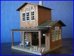 Playmobil/ Lgb Acw Western House Train Station Denver Custom/ Unikat