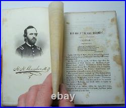 RARE Book 114th Regiment NY by Beecher 1866 OWNED by Captain Wheeler Civil War
