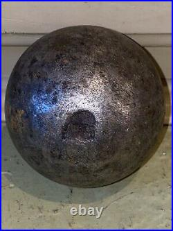 RARE! Civil War Solid Cannonball Over 4lbs 3 Diameter Antique Vintage American