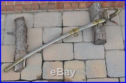 Rare Civil War US M1850 Staff & Field Officer's Sword By C. Roby & Co American