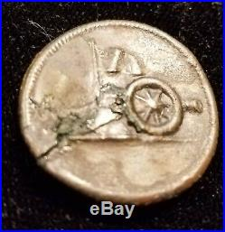 Revolutionary War American Artillery Officer's Button Alberts# Ay-1-a Excavated