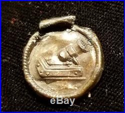 Revolutionary War American Artillery Officer's Button Alberts# Ay-3-a Excavated