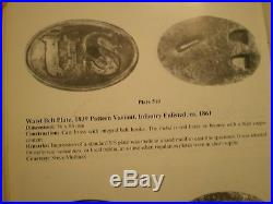 Sand Cast US Civil War Belt Buckle Plate 510 In O'Donnell's American Military