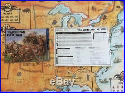 The American Civil War Epic Strategy GIANT Board Game With Over 600 Miniatures