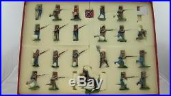 Trophy Toy Soldiers Wales ACW CW2 Pickett's Charge Large Box Set RARE #44