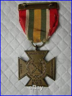 UDC Cross of Military Service for Spanish American War