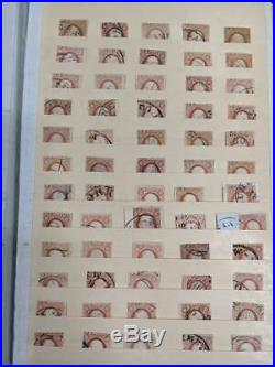 US 1850s Stamps #11/11A Used (x332) in vintage Nassau Street Stockbook CV $5000+