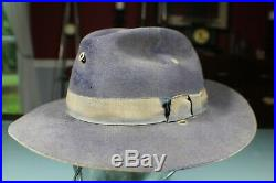 US Civil War Spanish American War Cavalry Officer's Slouch Campaign Hat. Nice