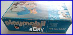 Very rare 1975 Exclusive Playmobil System 3230 V1 ACW Soldiers OVP Boxed Caja